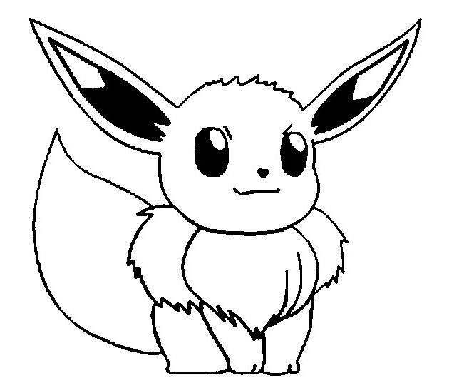 Evo Magz V4.7 encequiconcerne Coloriage Pokemon Evoli