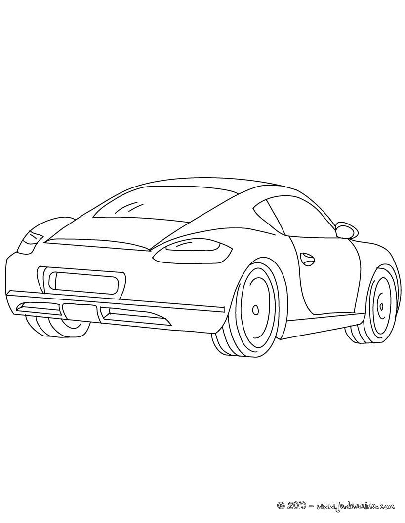 Evo Magz V4.7 tout Coloriage Porsche A Imprimer