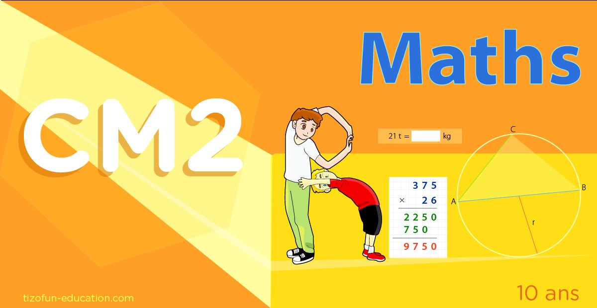 Exercice De Math Cm2 Nombres Calcul Géométrie Mesures encequiconcerne Manuel Maths Cm2 Gratuit