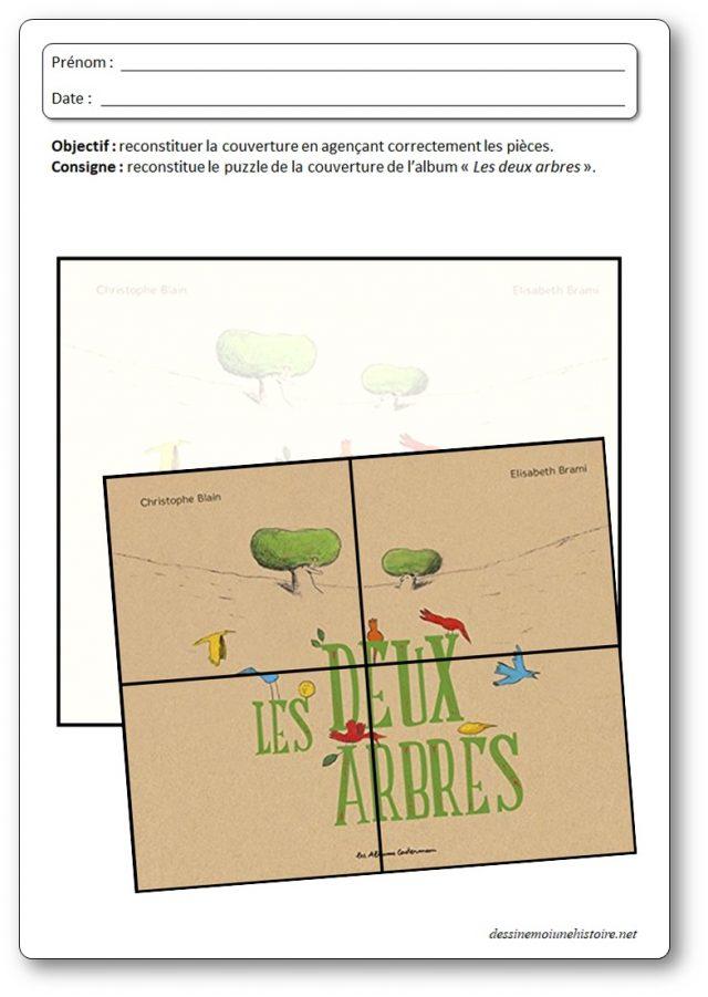 Exploitations D'Albums Pour La Maternelle intérieur Les Deux Arbres D?Elisabeth Brami Pdf