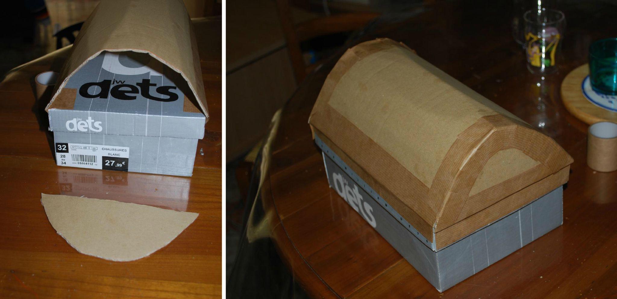 Fabriquer Un Coffre Chaussure destiné Comment Fabriquer Un Coffre Au Trésor