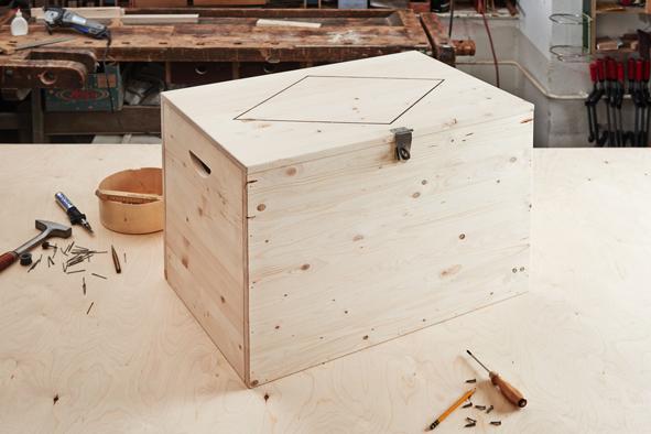 Fabriquer Un Coffre En Bois Facile – Conception Carte encequiconcerne Comment Fabriquer Un Coffre Au Trésor