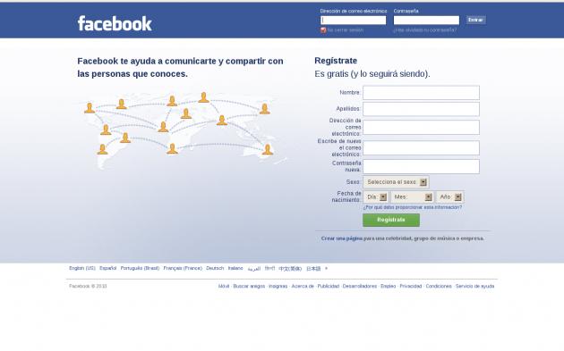 Facebook Wikipedia Español | Welcome To V Facebook - Login tout Wikip?Dia En Anglais