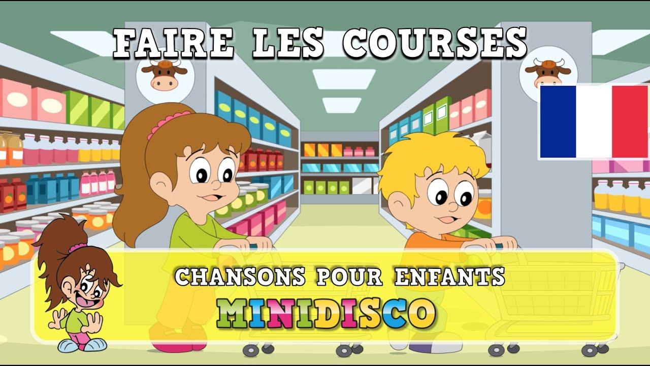 Faire Les Courses | Chansons Pour Enfants | Les Comptines encequiconcerne Les Chanson Pour Les Bébé