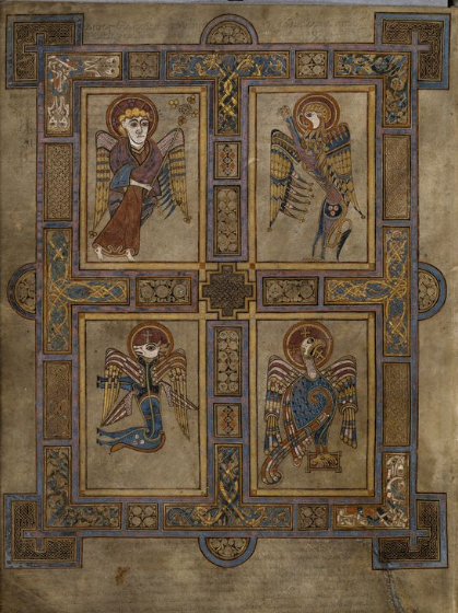Fall In Love With The Book Of Kells' Intricate dedans Book Of Kells .Asp?Id=