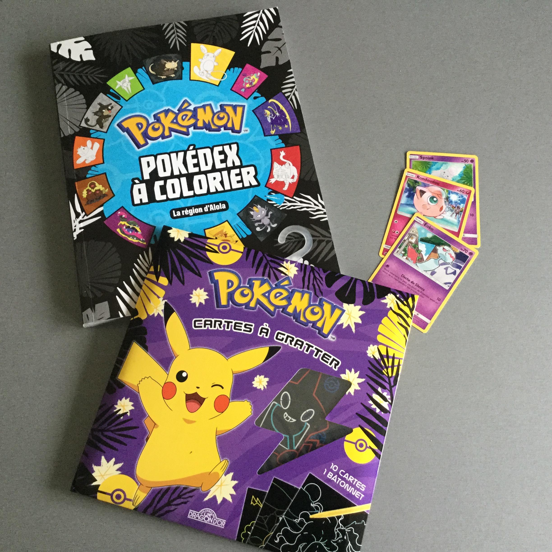 Fan De Pokémon: Coloriages, Cartes À Gratter Et Premiers avec Coloriage À Gratter