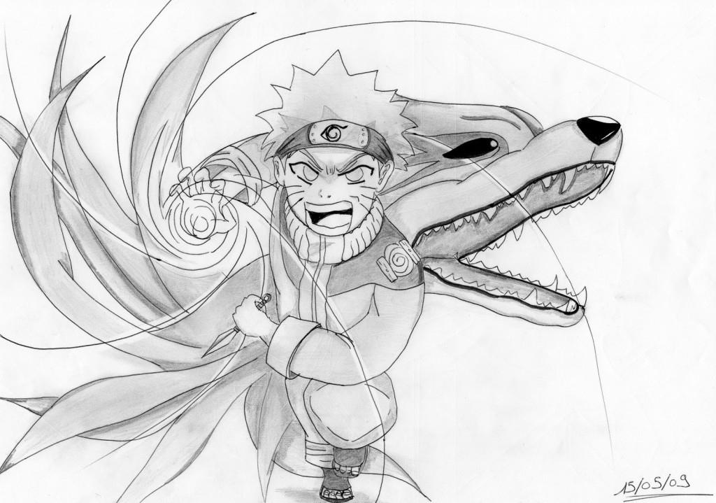 Fanarts Naruto – Partie 105 | Kana pour Dessin De Na Ruto A In Primer