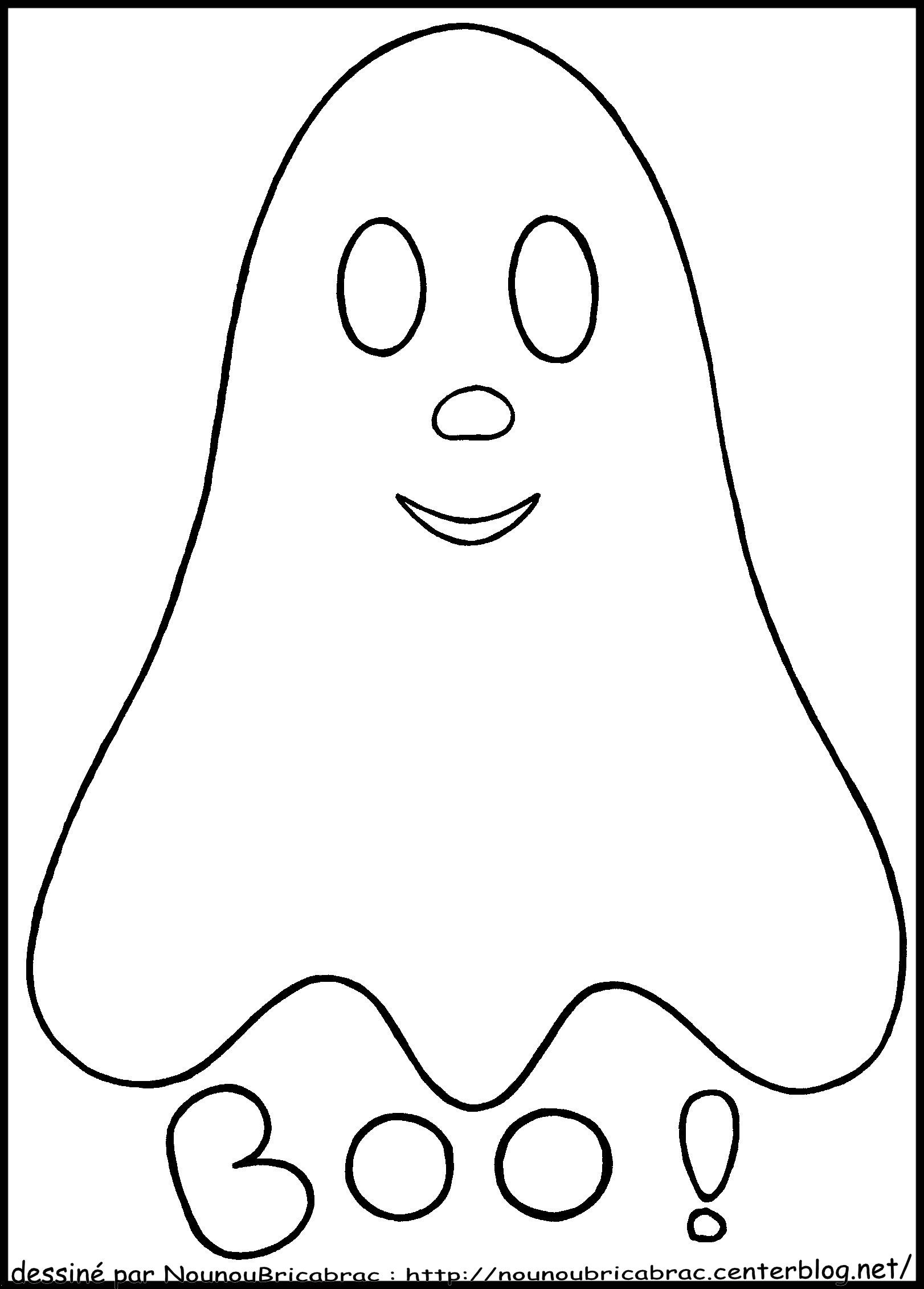Fantome Dessin Facile - Google Search | Dessin Halloween dedans Coloriage Facile À Imprimer