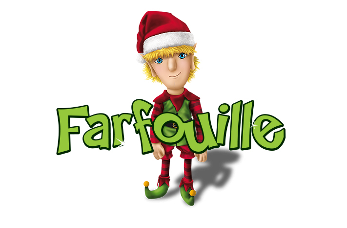 Farfouille - La Légende Des Lutins Bonjour, Mon Nom Est encequiconcerne Nom Renne Pere Noel