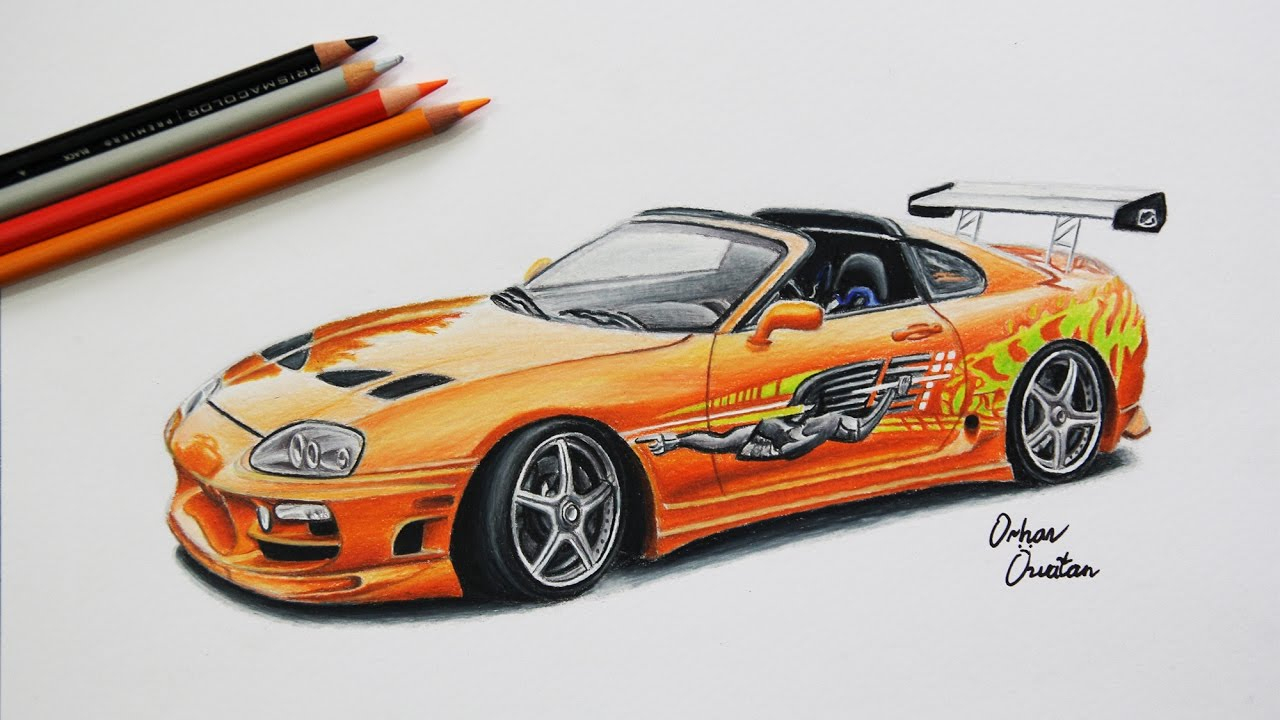 Fast And Furious Drawing At Getdrawings | Free Download dedans Coloriage Voiture Fast And Furious