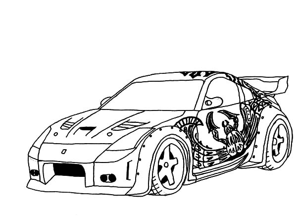 Fast And Furious Drawing At Getdrawings | Free Download intérieur Coloriage Voiture Fast And Furious