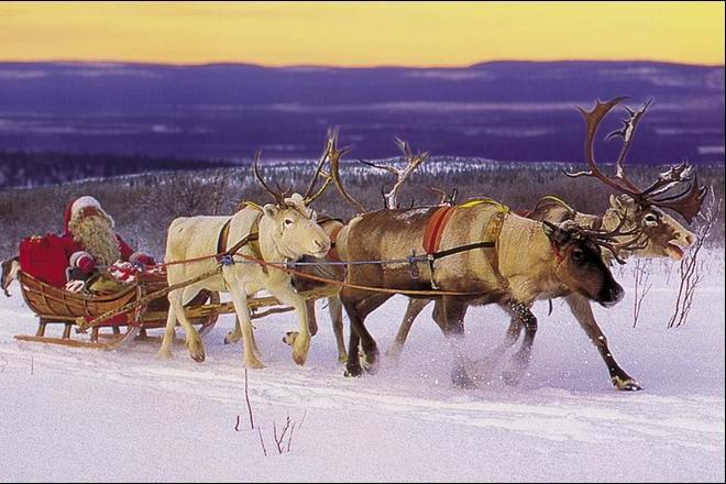 Faute D'Assurances Pour Le Traîneau, Le Père Noël Prendra destiné Traineaux Du Pere Noel