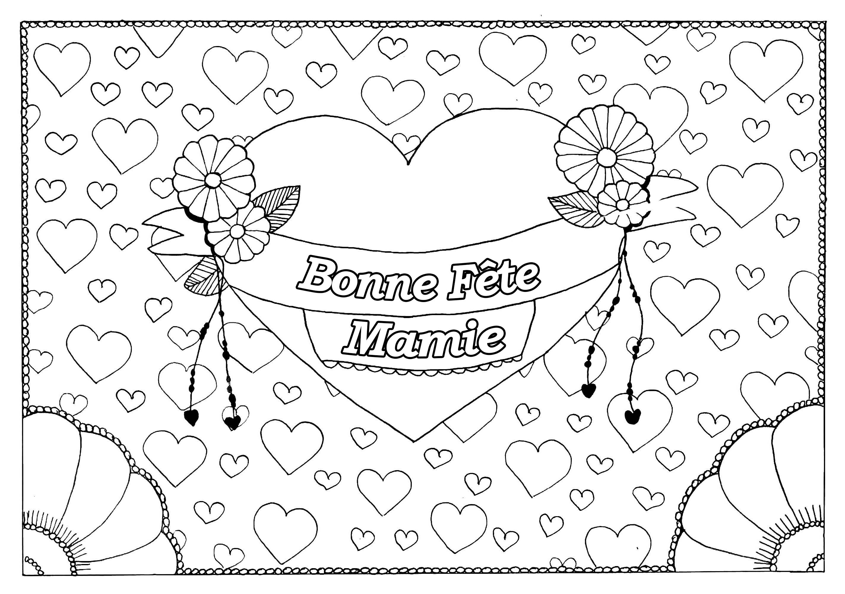Fete Grand - Fêtes Des Grands Parents - Coloriages encequiconcerne Fete Des Peres Dessin