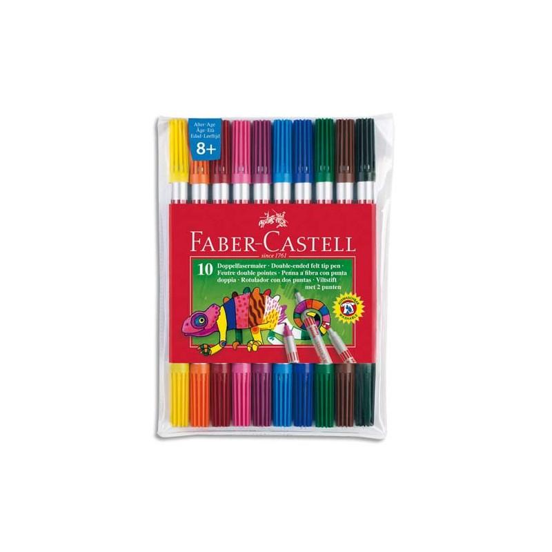 Feutre De Coloriage Faber Castell Double Pointe : Fine concernant Feutre Coloriage Professionnel