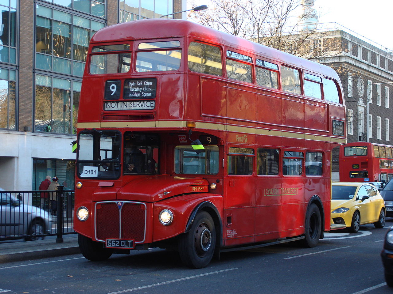 Fichier:routemaster Rm1562 — Wikipédia tout Image Bus Anglais