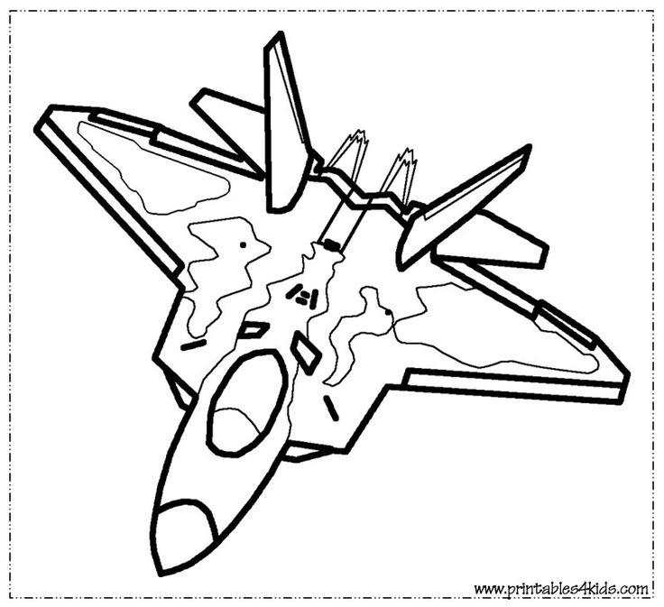 Fighter Jet Coloring Page : Printables For Kids – Free encequiconcerne Dessin Avion De Chasse