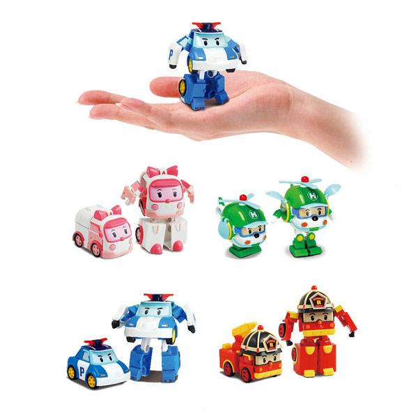 Figurine Transformable Robocar Poli 8 Cm Silverlit : King avec Jeux De Robocar Poli Gratuit