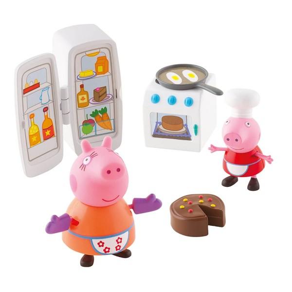 Figurines Peppa Pig : La Cuisine De Peppa - Jeux Et Jouets avec Jeux De Peppa Pig A La Piscine