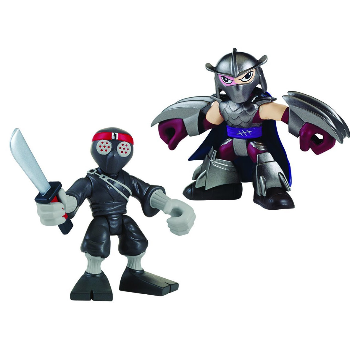 Figurines Tortues Ninja 6 Cm Shredder Et Foot Soldier | Ebay destiné Tortue Ninja Shredder