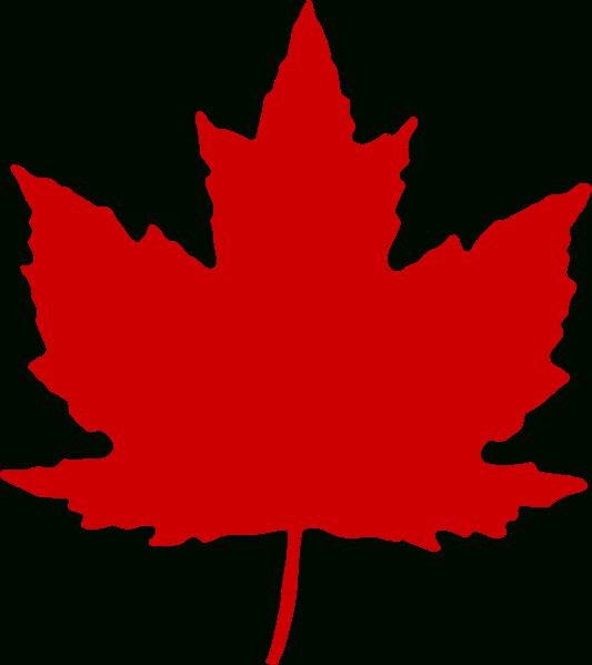 File:maple Leaf (From Roundel).Svg - Wikimedia Commons destiné Feuille D Erable Dessin