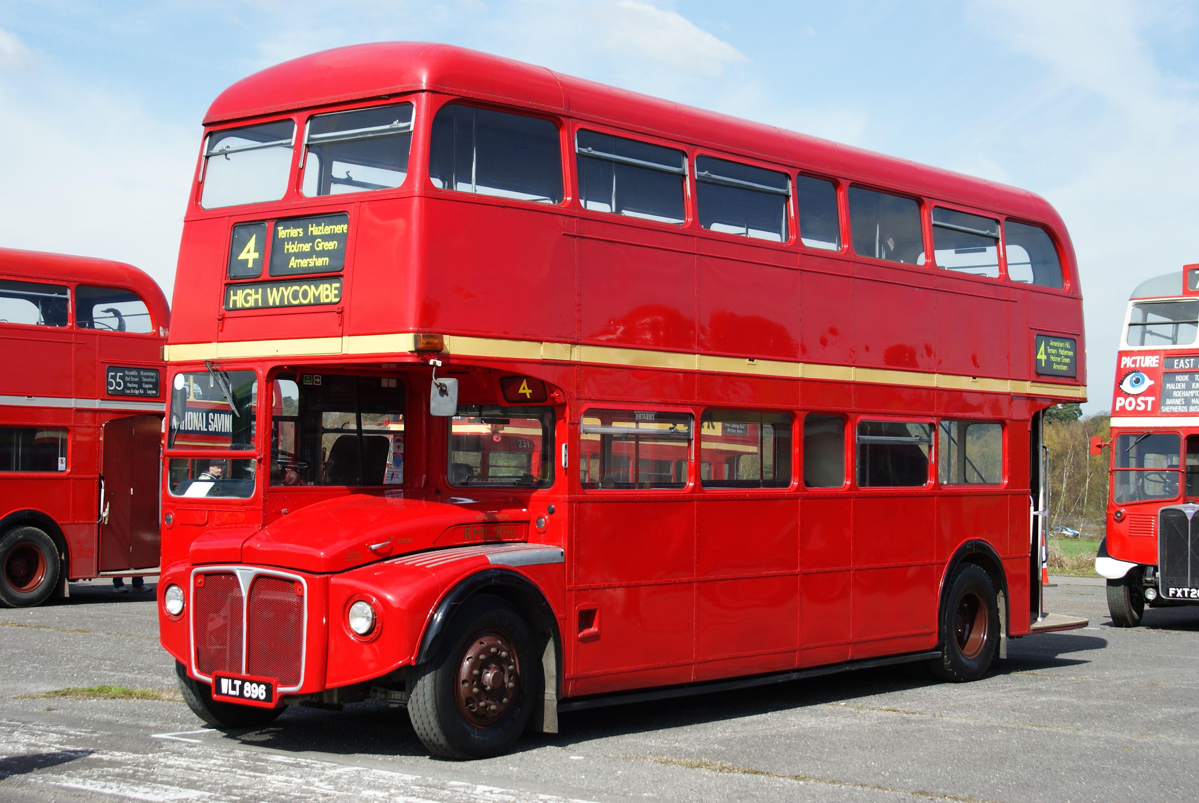File:routemaster Rml896 (Wlt 896), 2010 Cobham Bus Rally destiné Image Bus Anglais