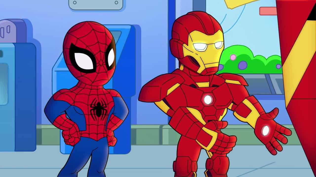 First Look: 'Marvel Super Hero Adventures' Stars Spider tout Super Héros Fille Marvel