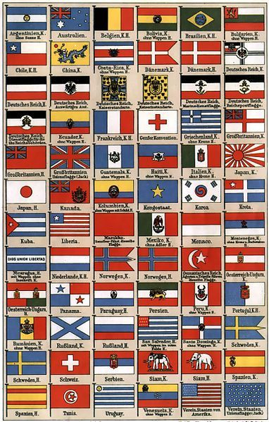 Flags Of The World 1911 | Flags Of The World, Flag, Flag dedans Drapeaux Du Monde À Imprimer