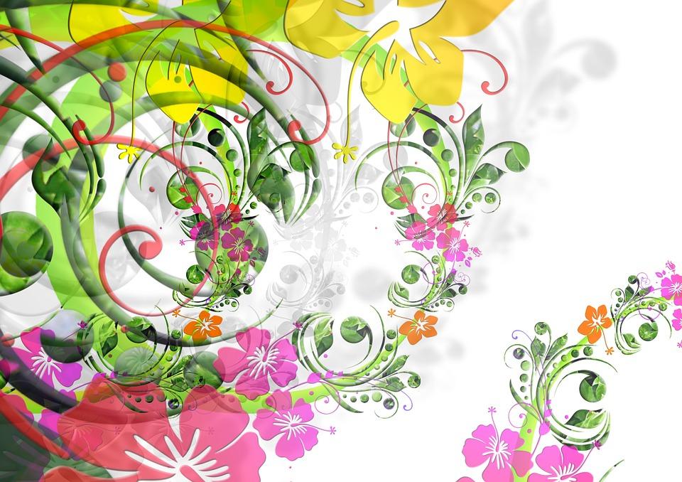 Flowers Floral Design Flora · Free Image On Pixabay dedans Dessin De Fleure