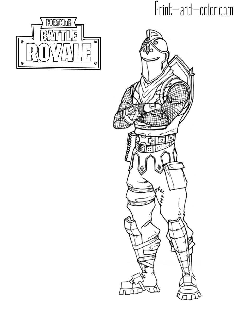 Fortnite Coloring Pages | Print And Color | Coloriage encequiconcerne Coloriage A Imprimer Fortnite