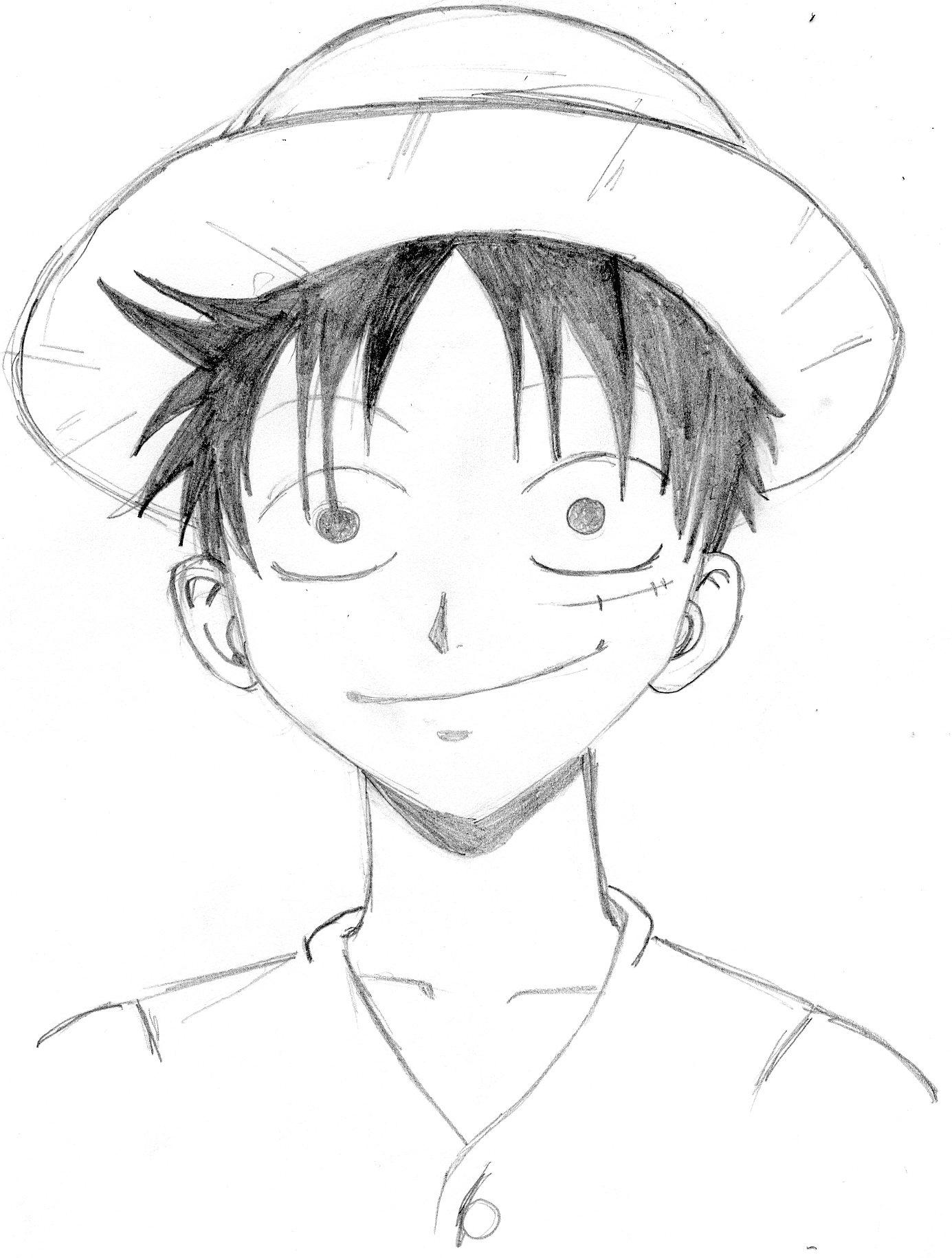Frais Coloriage One Piece Luffy 2 Ans Plus Tard A Imprimer intérieur Coloriage One Piece Luffy