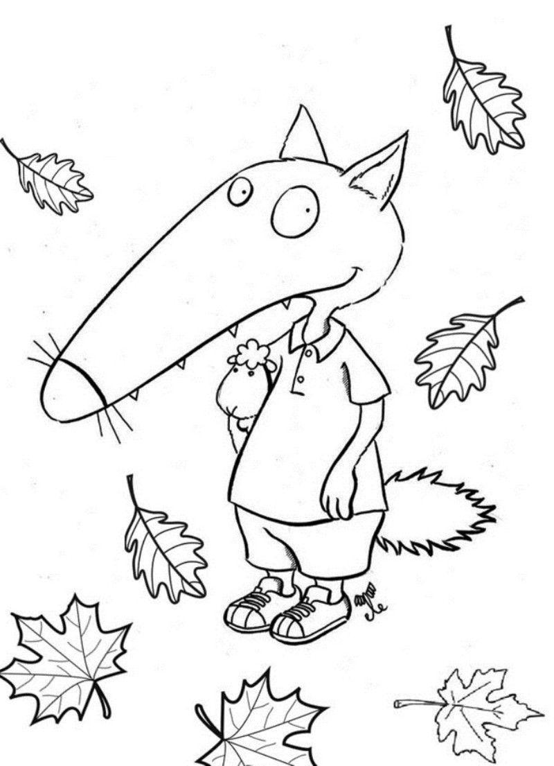Frais Coloriage Petit Loup Imprimer | Imprimer Et Obtenir pour Coloriage Mini Loup A Imprimer Gratuit
