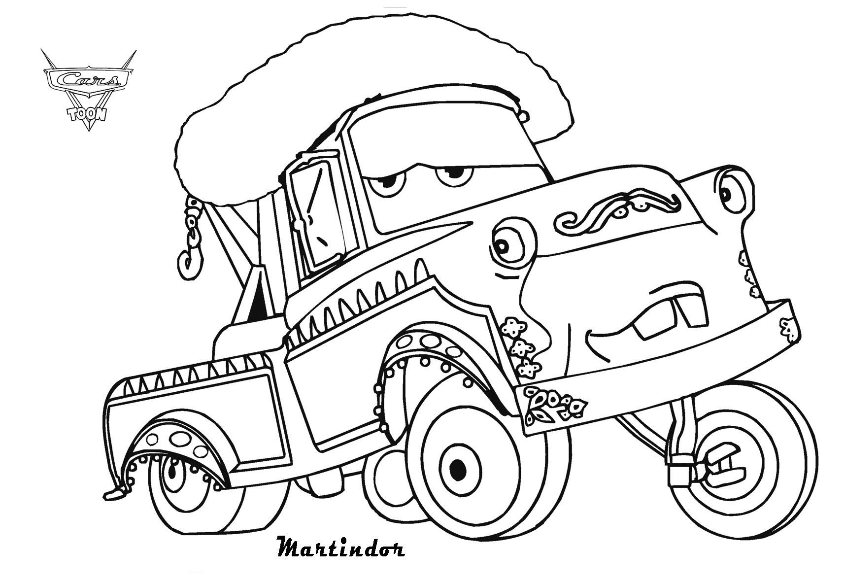 Frais Dessin A Colorier Camion Cars – Mademoiselleosaki serapportantà Dessin A Colorier Cars