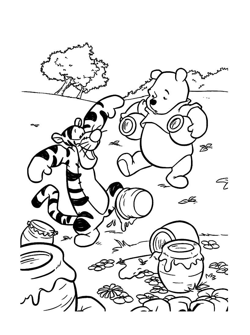 Frais Winnie L Ourson Coloriage A Imprimer | Imprimer Et encequiconcerne Coloriage Winnie L Ourson À Imprimer