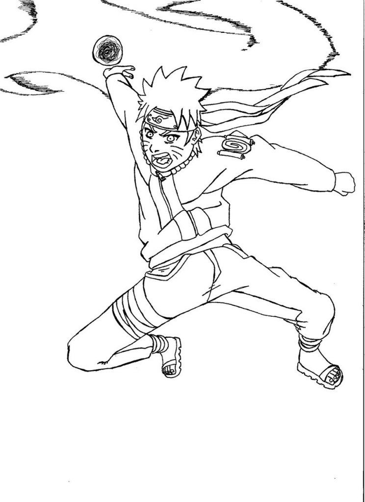 Free Printable Naruto Coloring Pages For Kids | Cartoon avec Naruto Shippuden Coloring Pages