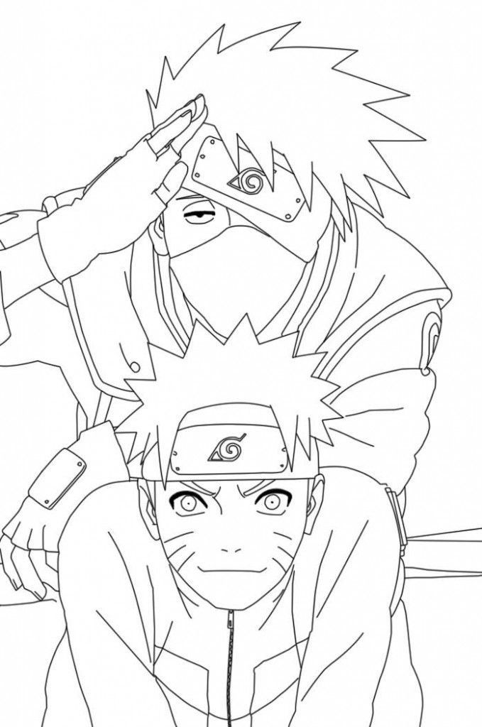 Free Printable Naruto Coloring Pages For Kids | Cartoon pour Dessin Naruto Shippuden