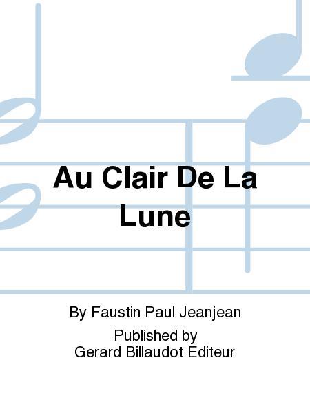 Free-Scores: Au Clair De La Lune (Partitions) encequiconcerne Au Clair De La Lune Paroles
