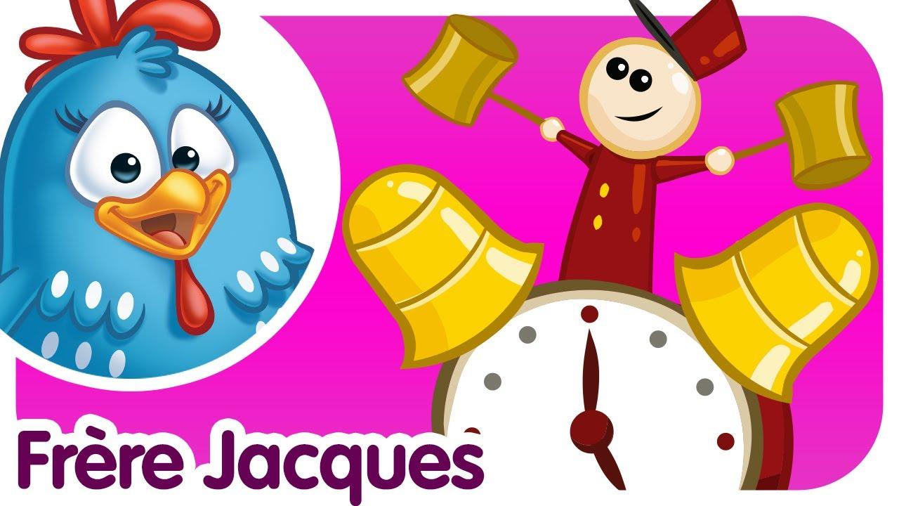 Frère Jacques - Comptines Et Chansons Pour Enfants Et destiné Dormez Vous Frere Jacques