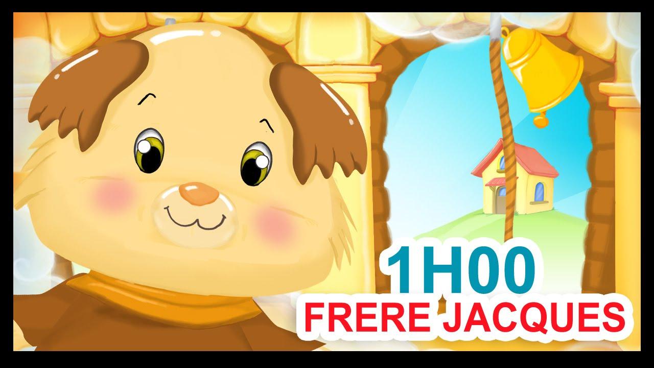 Frère Jacques Et 1H De Comptines Pour Enfants - Titounis à Dormez Vous Frere Jacques