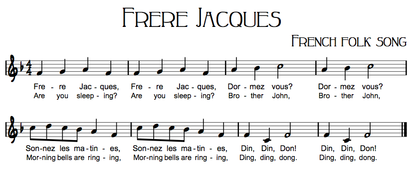 Frère Jacques For International Day   St. Andrew'S Dusit tout Dormez Vous Frere Jacques
