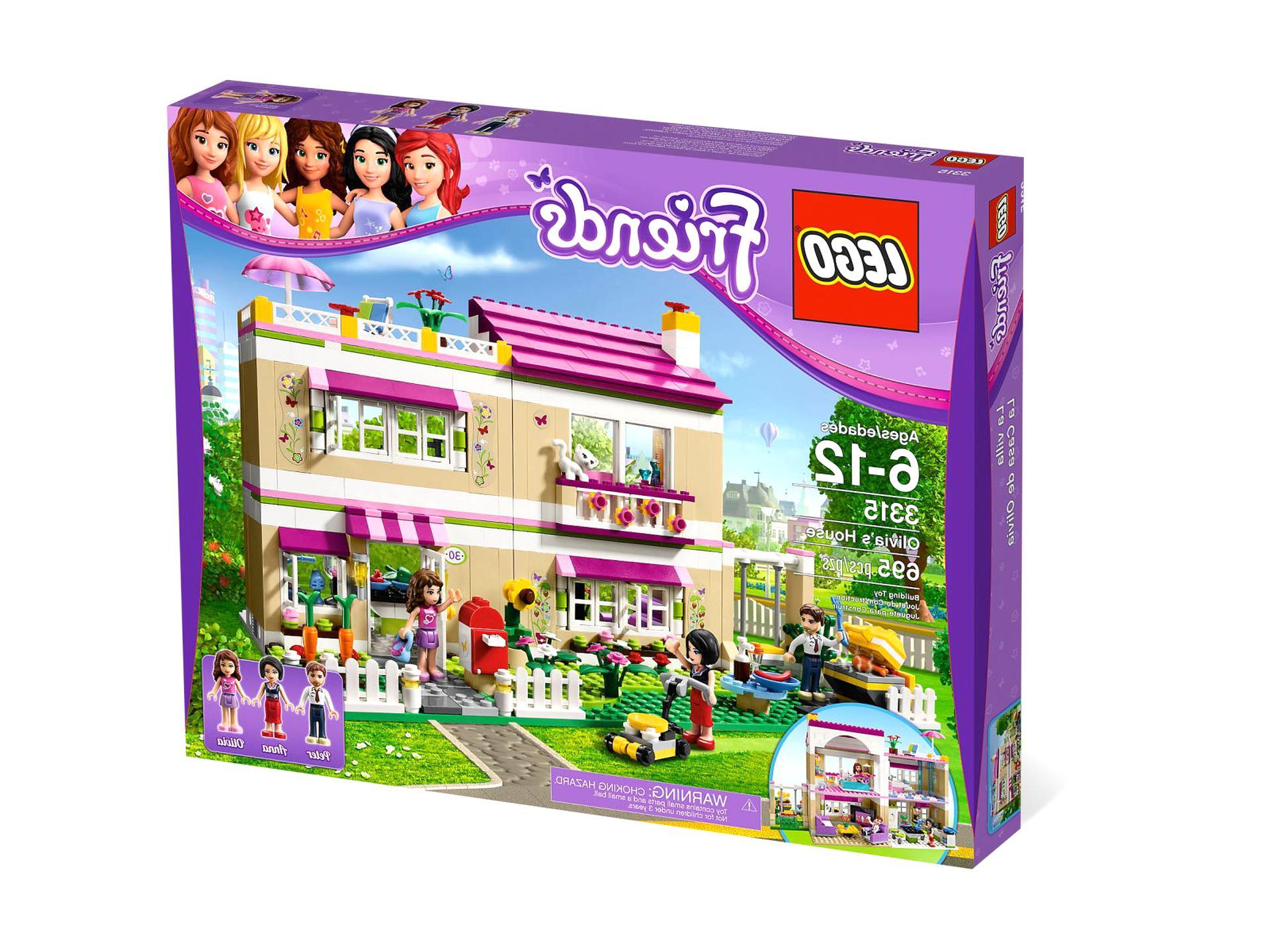Friends Lego 3315 D'occasion | Plus Que 3 À -70% à Ecole Lego Friends