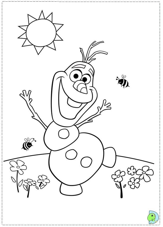 Frozen Character Coloring Pages – Olaf | Coloriage Reine pour Coloriage Olaf À Imprimer