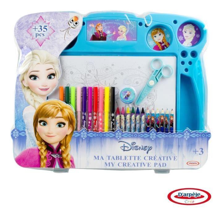 Frozen- Tablette D'Activités - Coloriage - Découpage à Coloriage Tablette
