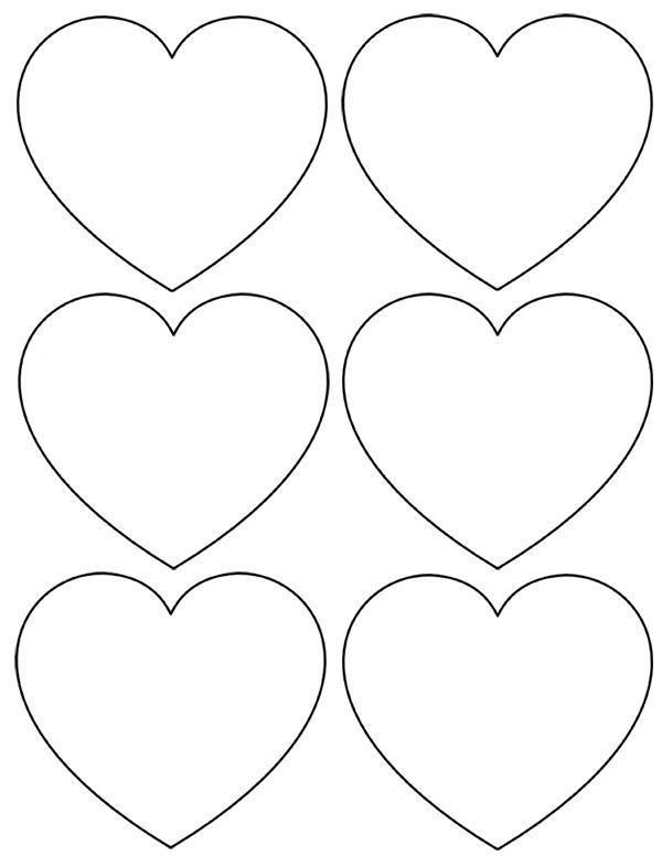 Gabarit Coeur A Imprimer | Etoile A Imprimer, Coeur St intérieur Dessin A Imprimer Coeur
