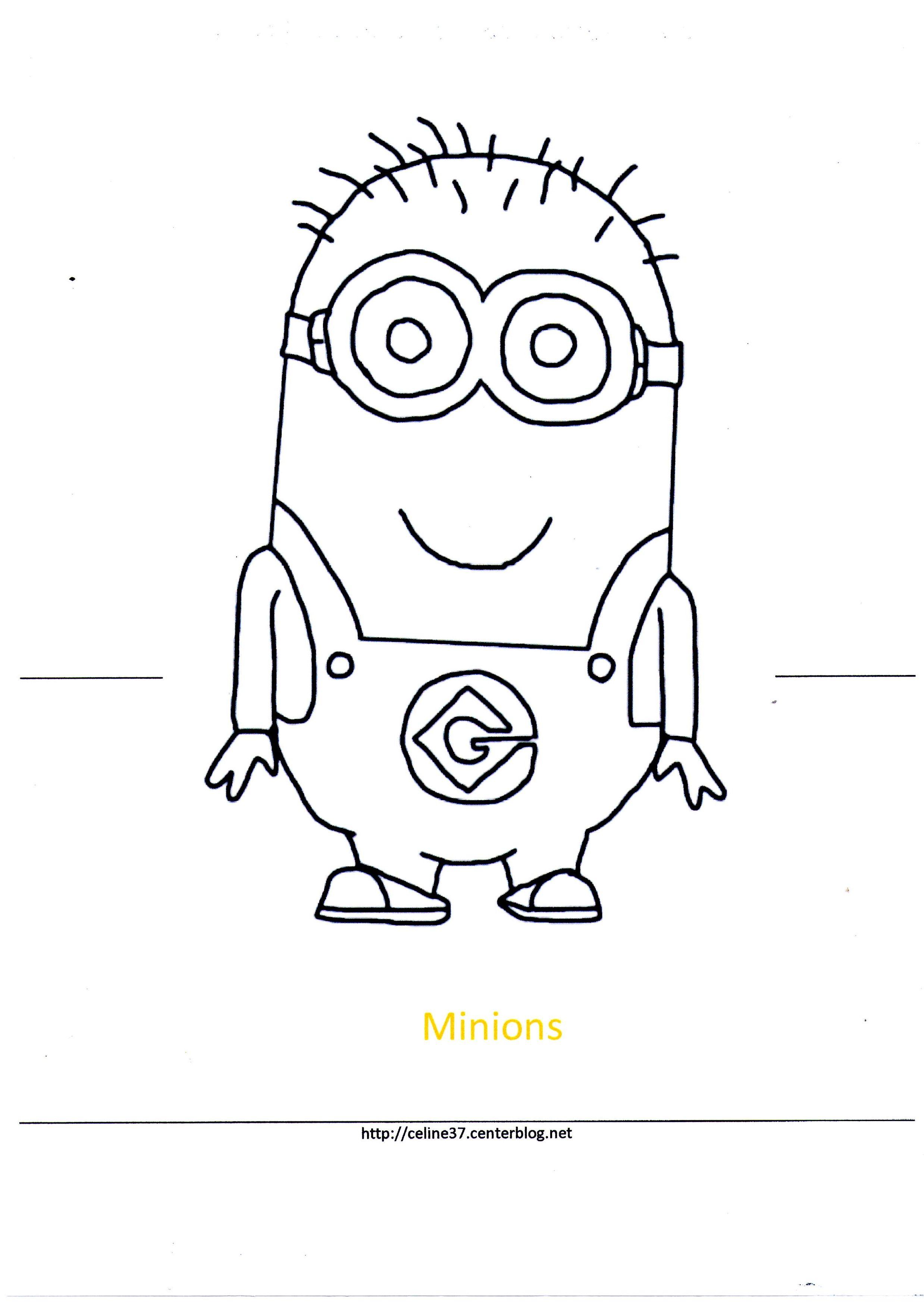 Gabarit Les Minions destiné Créer Un Minion