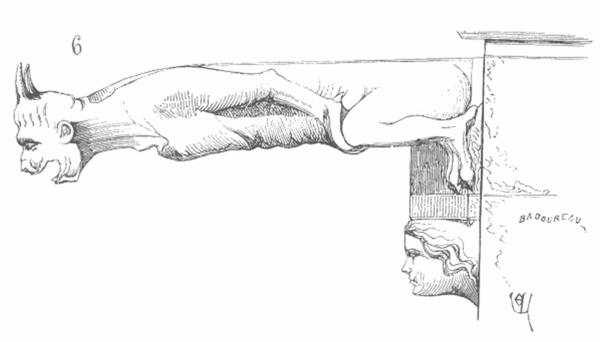 Gargouille Dans La Mythologie encequiconcerne Dessin Gargouille