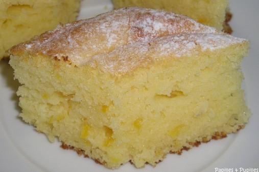 Gateau Au Yaourt Moelleux Au Citron destiné Gateau Miel Citron