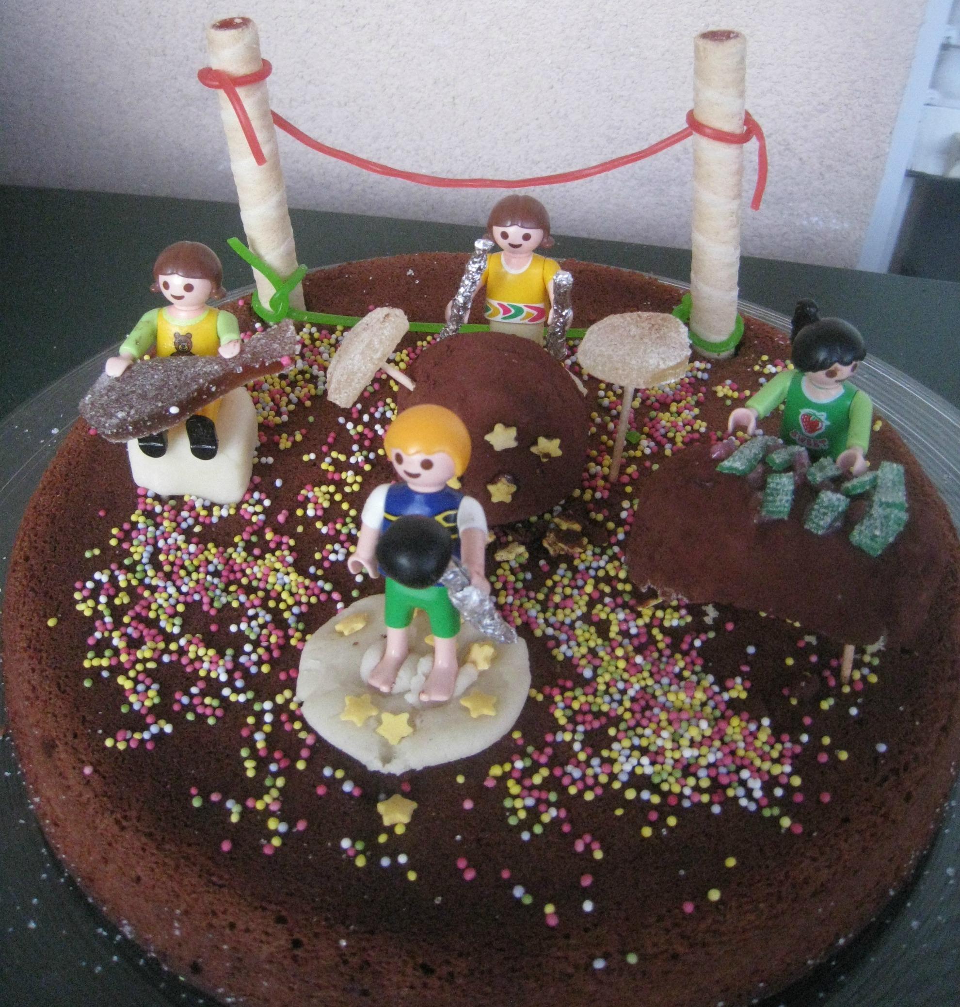 Gâteau D'Anniversaire Rock And Roll - Chroniques D'Une à Cherche Coffre De Pirate