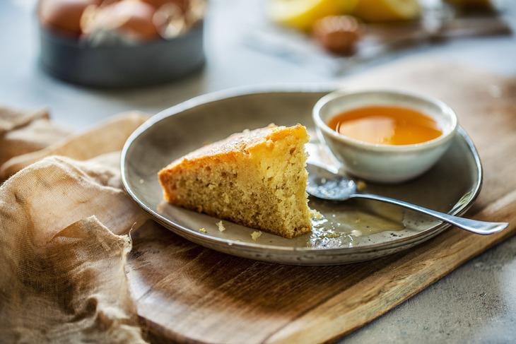Gâteau Imbibé Miel Et Citron - Chefnini encequiconcerne Gateau Miel Citron