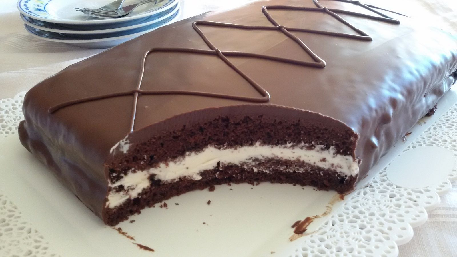 Gâteau Kinder Délice Fait Maison … | Gâteau Kinder Délice concernant Recette Chamallow Maison