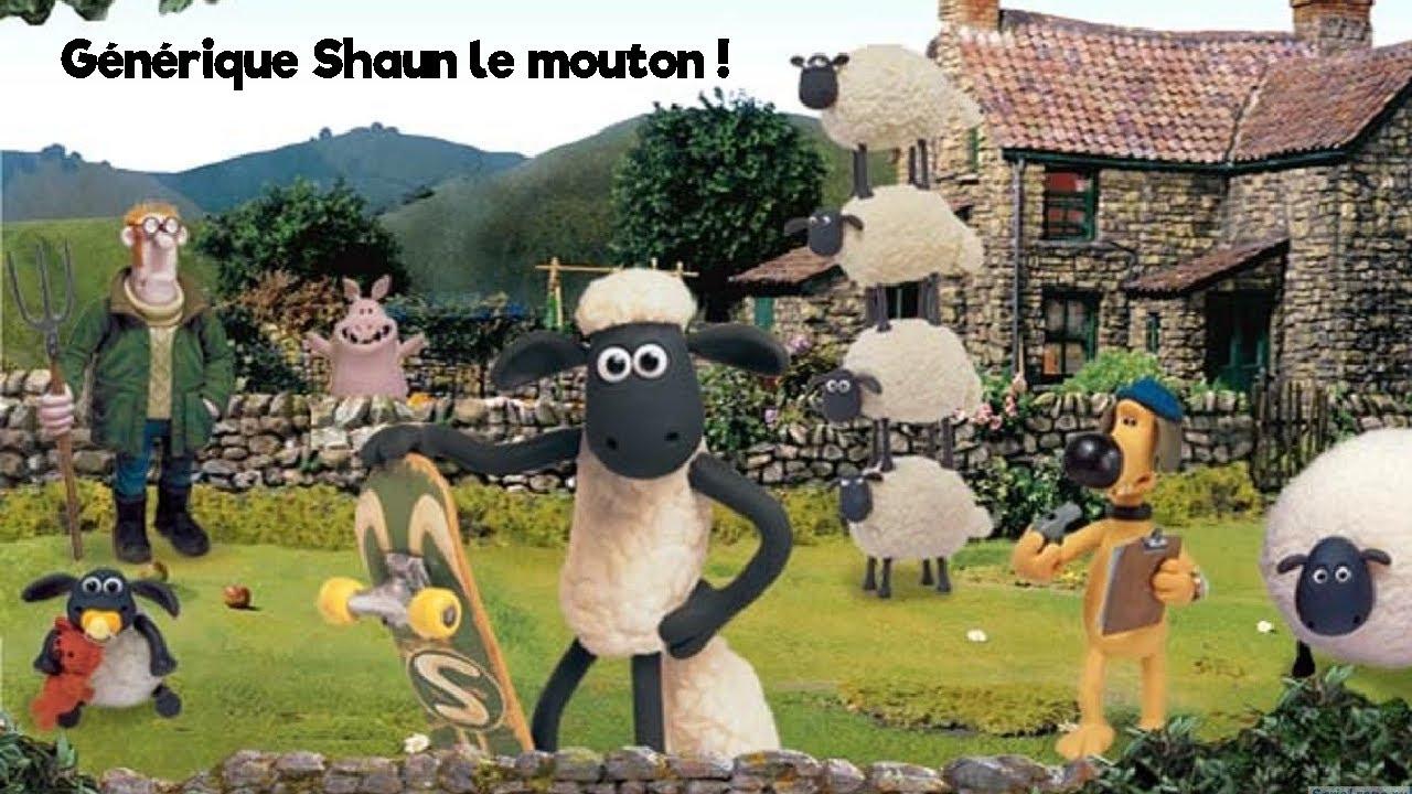 Générique Shaun Le Mouton Dessin Animé 😸🐑 - avec Dessin Mouton Rigolo